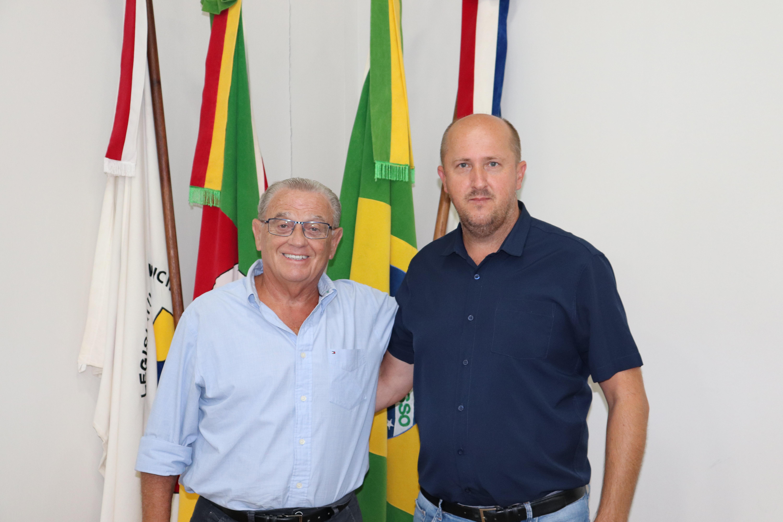 Presidente da Câmara de Capela de Santana, Jorge Follmer